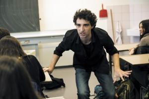 Theatre Amstramgram 2015-16 Theatre en Classe Répétitions du 7 janvier 2016 ' T'as quoi dans le Ventre ' d' Odile Cornuz mes Georges Guerreiro